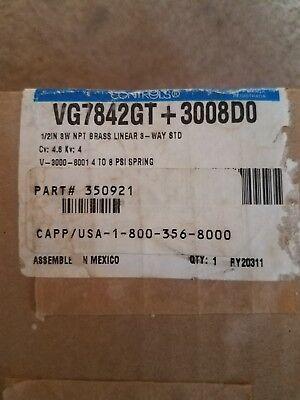 Johnson Controls Vg7842gt3008do Actuator 12 Npt Pneumatic Valve New