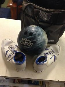 Brunswick bowling bal,  shoes and carry bag Inala Brisbane South West Preview