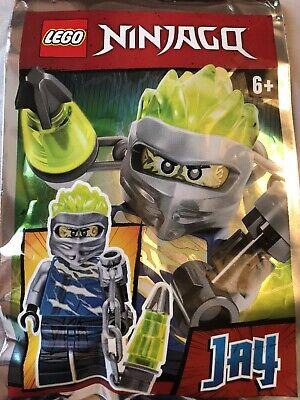 Lego Ninjago Jay With Mega Lightning Chain Mini Figure Polybag