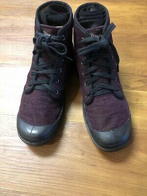 Palladium Richard Chai Burgundy Boots US MENS 9.5