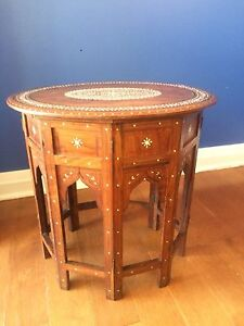 1910 Anglo Indian Table
