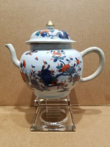 CHINESE IMARI LARGE 18TH CENTURY TEAPOT