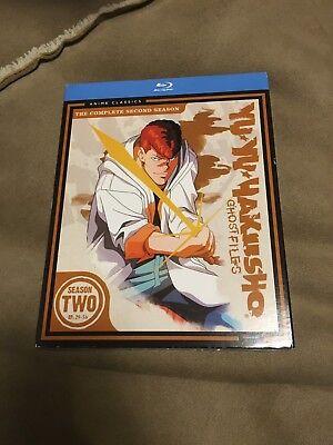 Yu Yu Hakusho: Season Two (Blu-ray Disc, 2011, 4-Disc Set) NEW