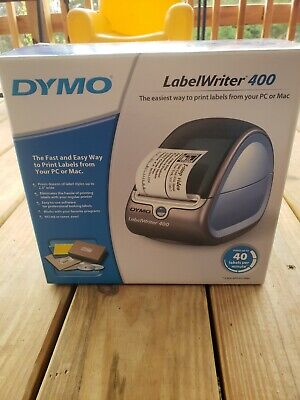 Dymo Labelwriter 400 Pc Connected Thermal Label Printer New H3