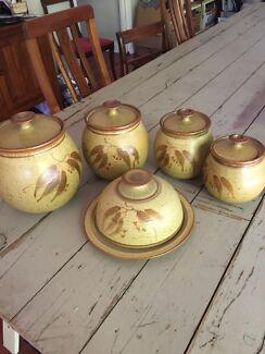 Vintage circa early 1980s Canny Ridge Pottery