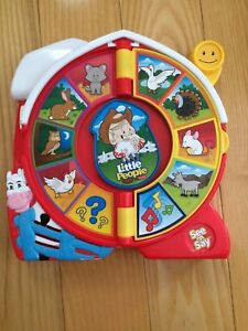 Neuve : Fisher Price ferme parlante Little People