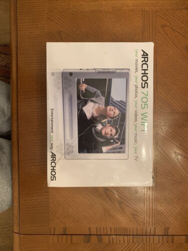 Brand New Archos 705 160GB Wi-Fi Hard Drive Portable Media Player 501016  - $350.00