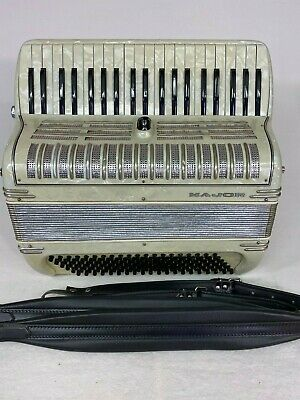 "Major Italian piano accordion lady/children size-16"" keyboard 2/4 reeds"