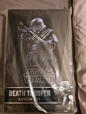 Death Trooper Specialist Hot Toys MMS385 Star Wars Rogue One NEW Unopen