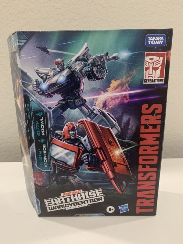 Transformers War for Cybertron Earthrise Ironhide & Prowl Amazon Exclusive MISB!