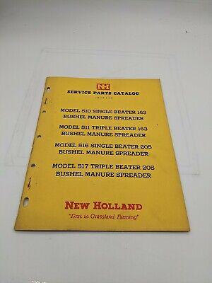 New Holland Service Parts Catalog Model 510 511 517 516 Manure Spreader 6-64