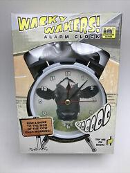 Mark Feldstein Wacky Wakers Mooo Cow Alarm Clock