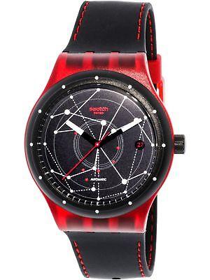 Black Rubber Watch - Swatch Men's Sistem51 SUTR400 Black Rubber Swiss Automatic Fashion Watch