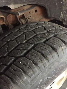 Cooper Discovery ATw tires and rims