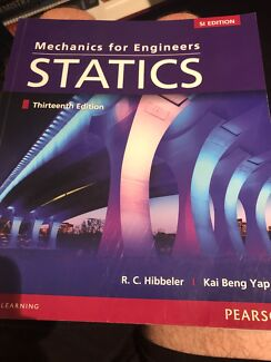 Mechanics for Engineers Statics 13e