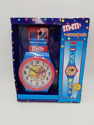 M&M's Watch Wall Clock 36 Inches Tall Collectible Art Display Gift Brand New!