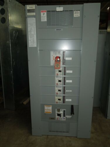 Eaton Pow-R-Line C PRL4 1200A 3ph 3w 480V Main Breaker Panel w/ Distribution