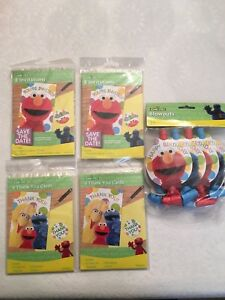 Kids Birthday Supplies-Sesame Street