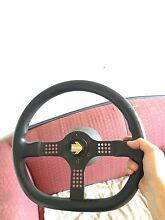 genuine momo steering wheel. With e30 boss kit Duncraig Joondalup Area Preview