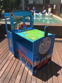 Thomas the Tank Engine Wooden Play and Store Train