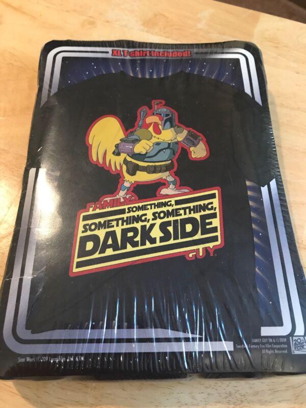 Family Guy Something, Something, Something Dark Side XL Sealed T-Shirt