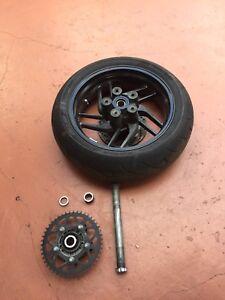 Ducati 821 monster rear wheel Sprocket & Tire