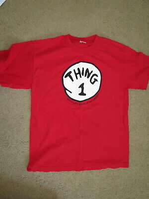 Fun Things For Halloween (THING 1   t-shirt - great for Halloween or just for fun - adult M)