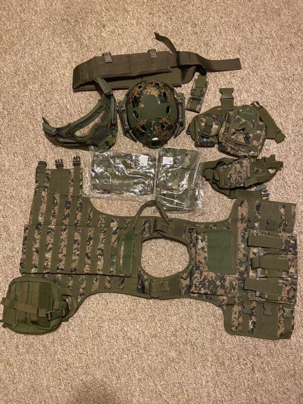 Airsoft gear lot