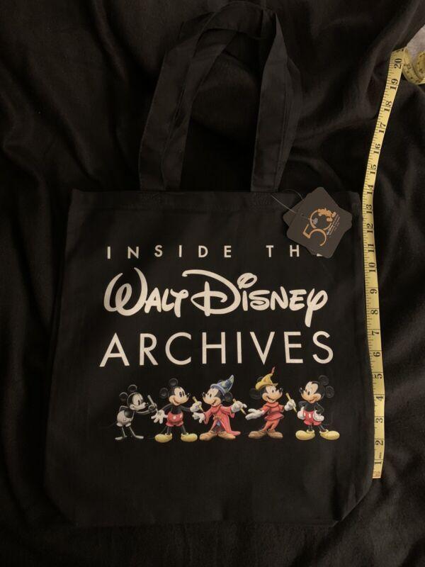Inside Walt Disney Archives Exhibition Bowers Museum Tote Bag Black