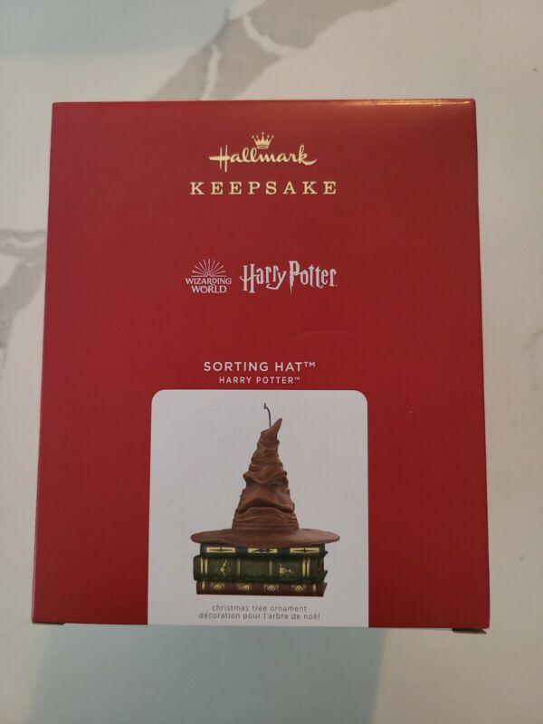 2021 Hallmark Sorting Hat Ornament Harry Potter NEW IN BOX