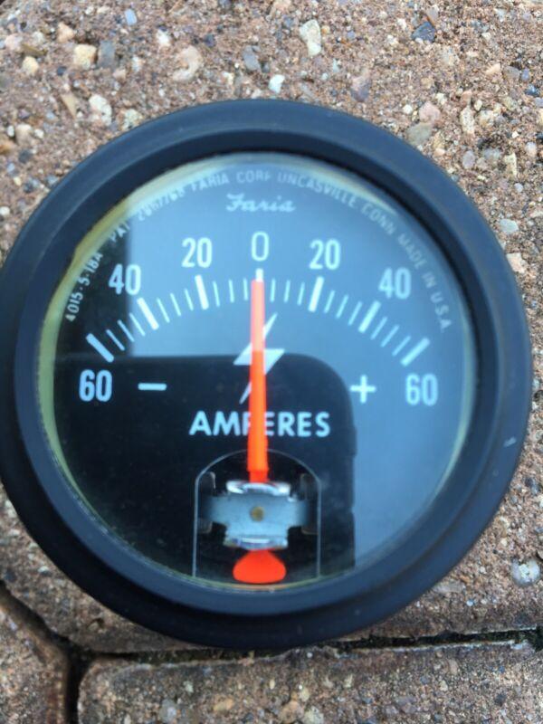 5981710 Ammeter NOS AMC. Very Good Condition Unique Design.