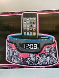 Monster High Alarm Clock Radio iPhone iPod Dock NEW