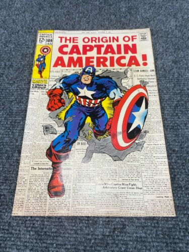 Captain America #109 The Origin of Captain America (Great Condition)*