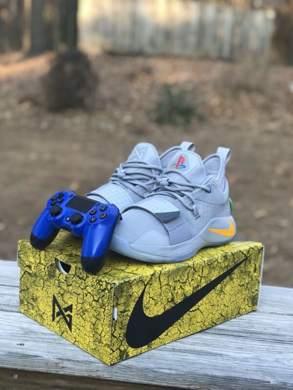 1249bf3d459 2018 NIKE PG 2.5 PLAYSTATION Paul George BQ8388 001 Size 9 DEADSTOCK ...