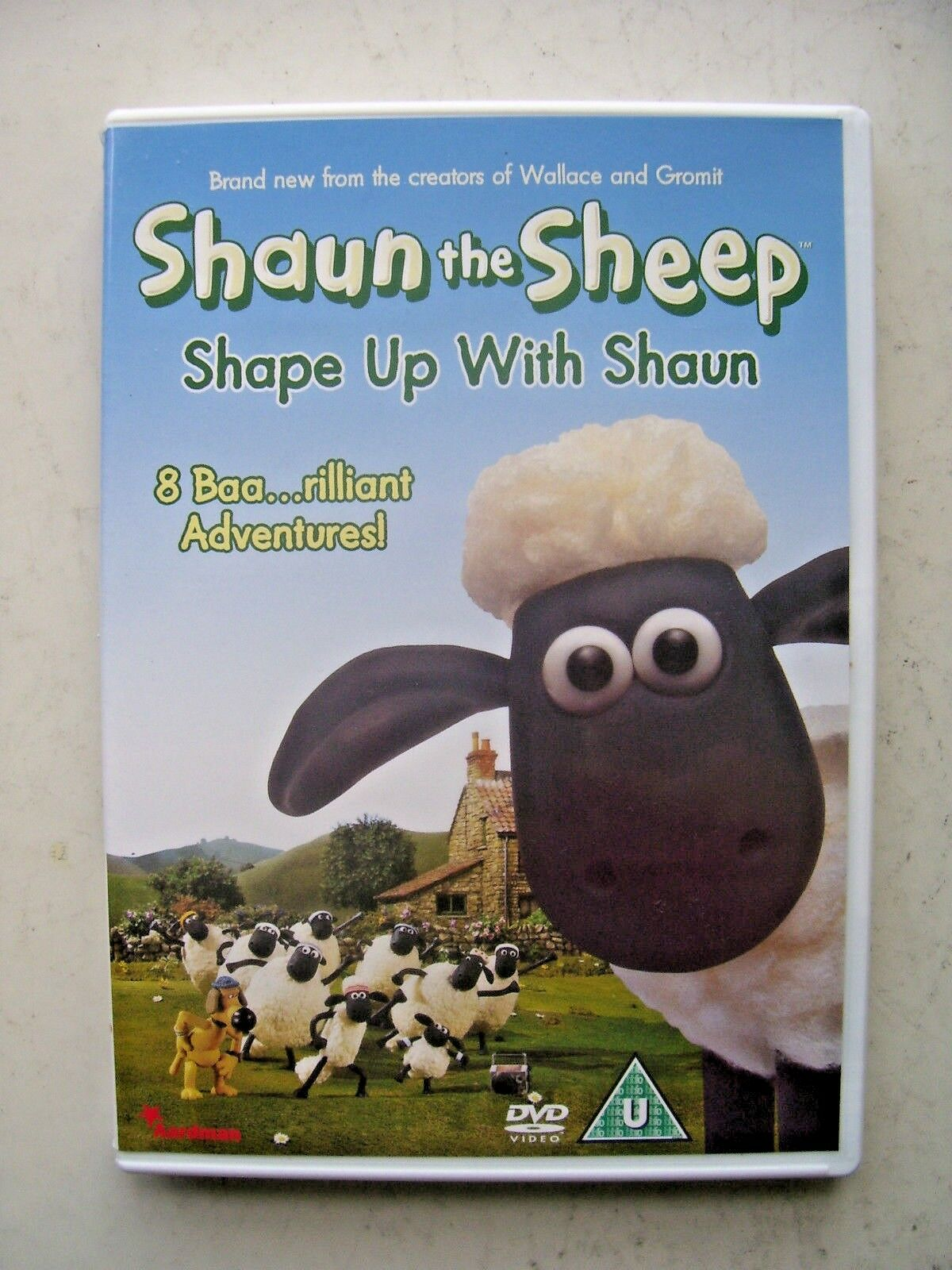 Shaun the Sheep - Shape Up With Shaun (DVD, 2007)