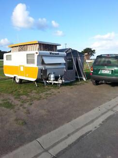 Classic 1978 Viscount Poptop Caravan