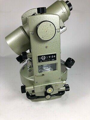 Geotec T24 Surveyors Classic Transit With Optical Plummet