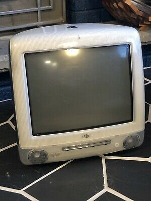"Vintage Original APPLE iMac Computer G3 DV Special Limited Edition ""Graphite"""