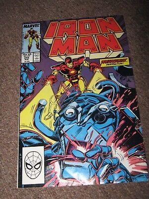 Iron Man #245 / 1989