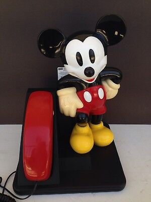 Vintage: Disney Mickey Mouse Corded 1992 Telephone. Pre-Owned