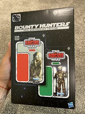 "STAR WARS BLACK SERIES 40TH 6"" BOUNTY HUNTERS ZUCKUSS 4 LOM NEW SEALED AMAZON"