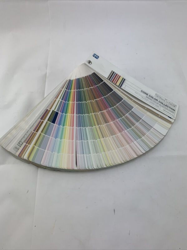 Pittsburgh Paints PPG Paint Architectural Color Swatches Samples Chips Fan Deck