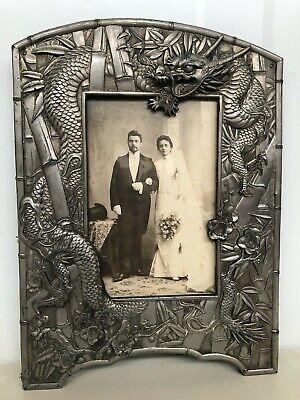 Stunning Vintage/Antique Dragon Picture frame (L2)