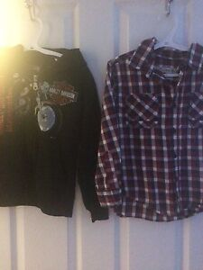 Brand name boys clothes. All fit like size 5-6.