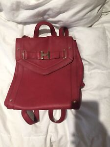 Tommy Hilfiger Faux Leather backpack purse