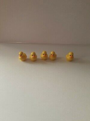 Lego City Yellow Duckling Duck Animal Cute Minifigure New x5