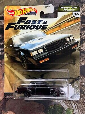 Hot Wheels Fast & Furious Motor City Muscle '87 Buick Grand National