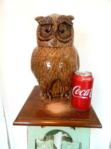 marvin bailey owl, pottery,folk art 12