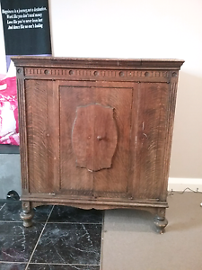 Antique Grammer Phon Cabinet Cygnet Huon Valley Preview