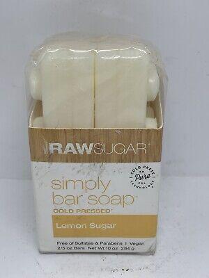 Raw Sugar Simply Bar Soap Lemon Sugar